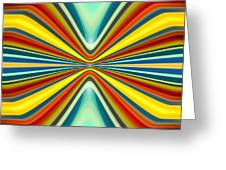 Digital Art Pattern 8 Greeting Card by Amy Vangsgard