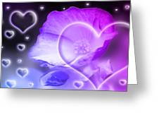 Digital-art Sensuality I Greeting Card
