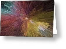 Digital Crystal Art Greeting Card