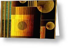 Digital Design 469 Greeting Card