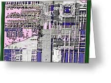 Digital Design 591 Greeting Card