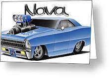 Digital Nova Greeting Card