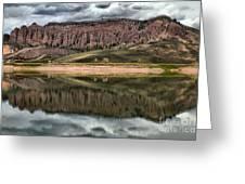 Dillon Pinnacles In Blue Mesa Greeting Card