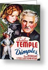 Dimples Greeting Card by Movie Poster Prints