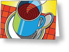 Diner Coffee Greeting Card by Ron Magnes