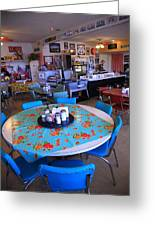 Diner On Route 66 Greeting Card