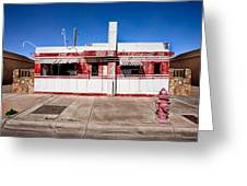 Diner Greeting Card by Peter Tellone