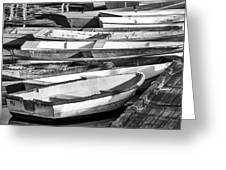Dinghies - Perkins Cove Maine Greeting Card