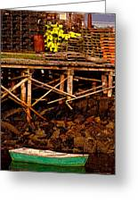 Dinghy Dock Greeting Card