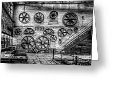 Dinorwig Quarry Workshop V2 Greeting Card
