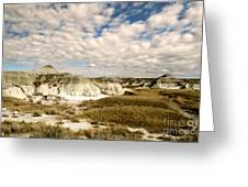 Dinosaur Badlands Greeting Card