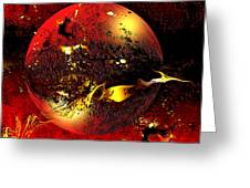 Dinyx Greeting Card by Franziskus Pfleghart