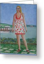 Diosa Del Mar Greeting Card