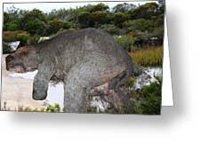 Diprotodon Greeting Card