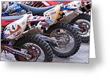 Dirt Bikes Greeting Card by Rick Piper Photography