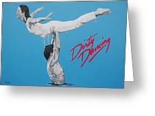Dirty Dancing The Lift Greeting Card