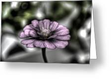 Dirty Flowers 3 Greeting Card