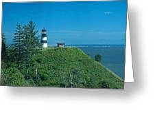 Disappointment Lighthouse In Washington State Greeting Card