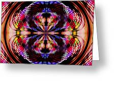Disco Dancing In A Black Hole Greeting Card