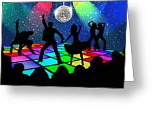 Disco Fever Greeting Card