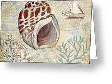 Discovery Shell Iv Greeting Card