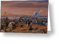 Disembarkation - Kerch, 24 May 1855 Greeting Card