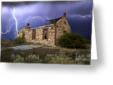 Display Of Power Greeting Card by Shannon Rogers