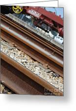 Dismantled Train Station Greeting Card by Luis Alvarenga