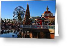 Disney California Adventure Christmas Greeting Card