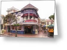 Disney Clothiers Main Street Disneyland 02 Greeting Card