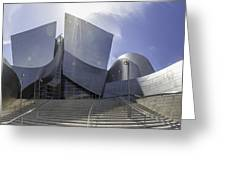 Disney Concert Hall Los Angeles Greeting Card