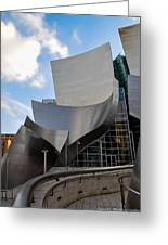 Disney Hall Greeting Card