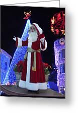 Disney Santa Greeting Card