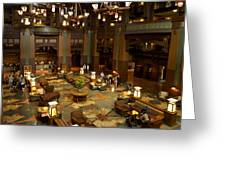 Disneyland Grand Californian Hotel Lobby 04 Greeting Card
