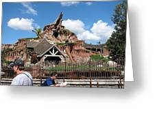 Disneyland Park Anaheim - 121218 Greeting Card