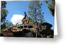 Disneyland Park Anaheim - 121220 Greeting Card