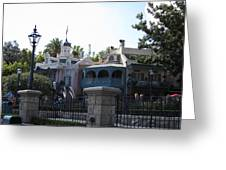 Disneyland Park Anaheim - 121224 Greeting Card