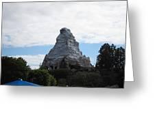 Disneyland Park Anaheim - 12123 Greeting Card
