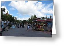 Disneyland Park Anaheim - 121231 Greeting Card
