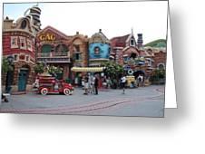 Disneyland Park Anaheim - 121232 Greeting Card