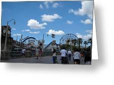 Disneyland Park Anaheim - 121235 Greeting Card