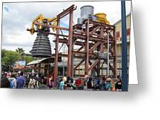 Disneyland Park Anaheim - 121247 Greeting Card