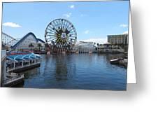 Disneyland Park Anaheim - 121252 Greeting Card
