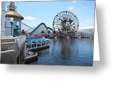Disneyland Park Anaheim - 121253 Greeting Card