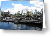 Disneyland Park Anaheim - 121255 Greeting Card