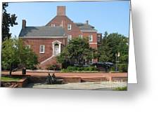 Display Patience Sculpture - Annapolis Greeting Card