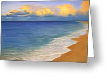 Distant Clouds Greeting Card