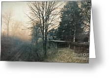 Distant Light Greeting Card