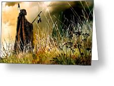 Distant Thunder Greeting Card