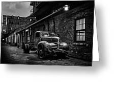 Distillery District Toronto Mono Greeting Card